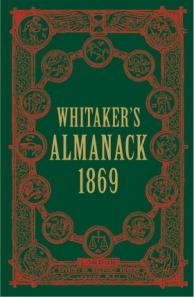 Whitaker's Almanack 1869